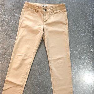 CAbi Khaki jeans! Sz 2
